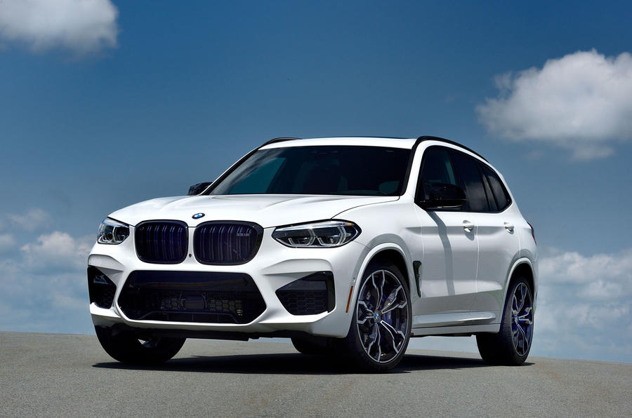 BMW X3 M Competition 2019 first drive review - static front