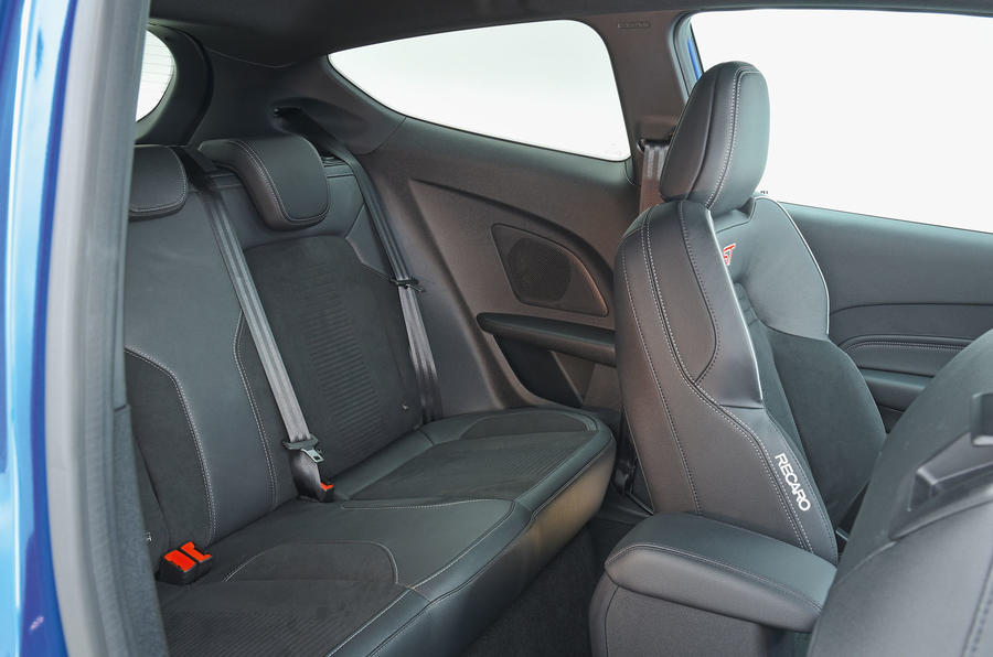 Ford Fiesta ST 2019 long-term review - rear seats