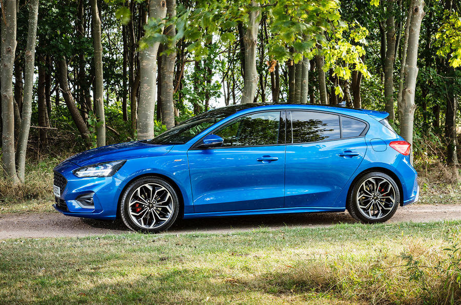 Ford Focus ST-Line 182PS 2018 UK first drive review - static side