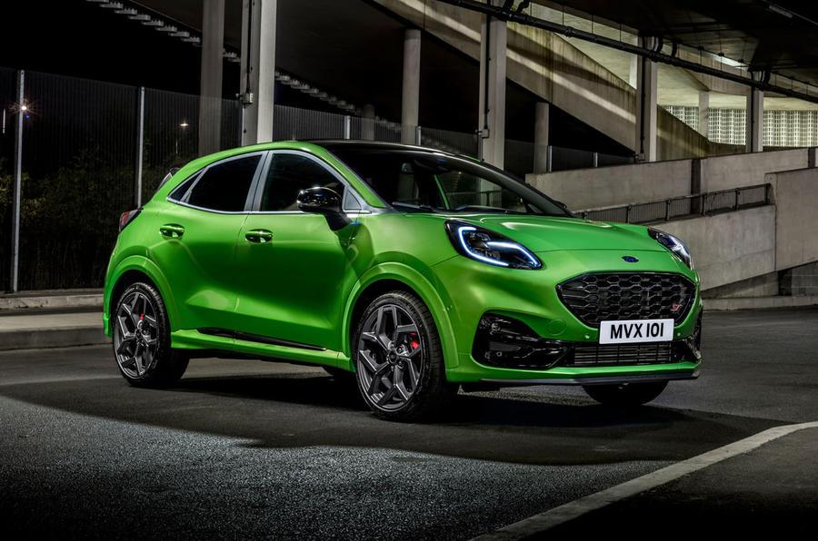 Ford Puma ST 2020 : premier examen de la conduite au Royaume-Uni - avant statique