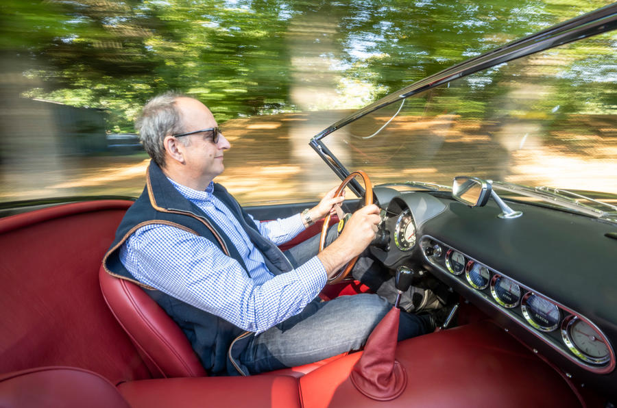 19 GTO California Spyder revival 2021 UE FD au volant de l'AF