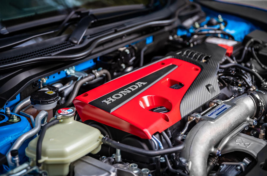Honda Civic Type R 2020 UK first drive review - engine