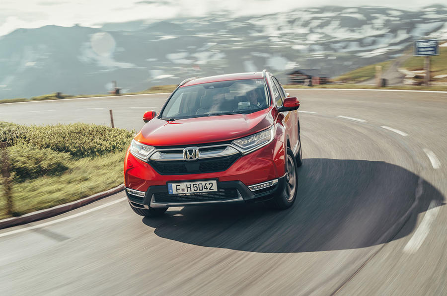 Honda CR-V 2018 first drive review cornering front