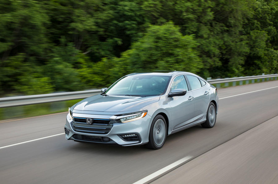 Honda Insight 2019 first drive review - on the road front
