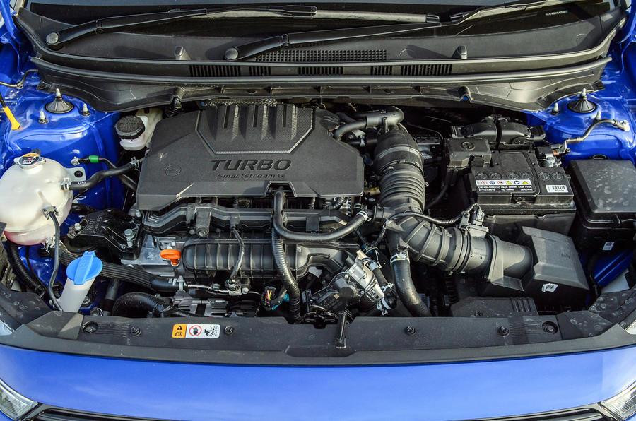 19 Hyundai Bayon 2021 UE FD moteur