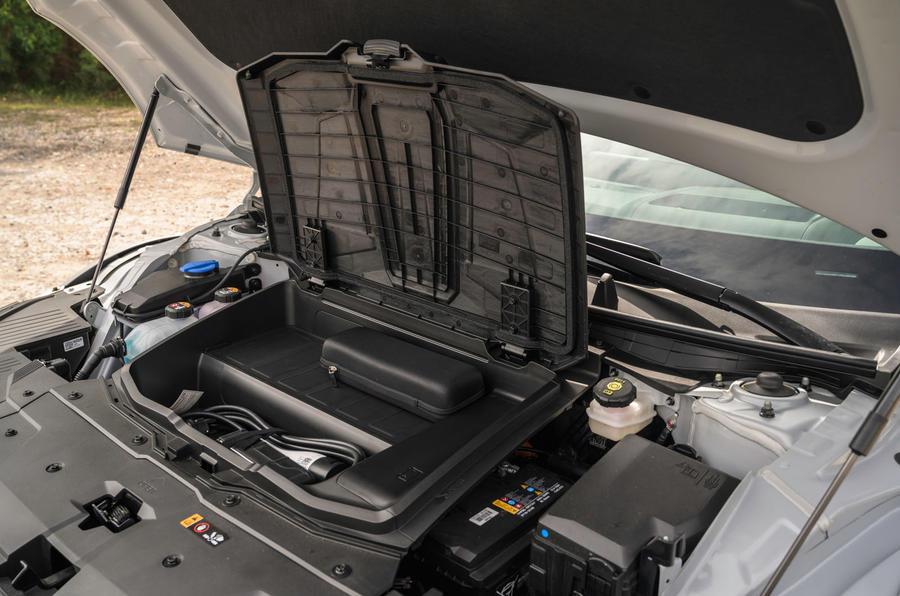 19 Hyundai Ioniq 5 2021 FD plaques de Norvège moteur