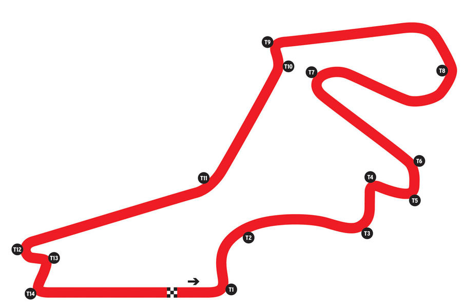 Istanbul Park map