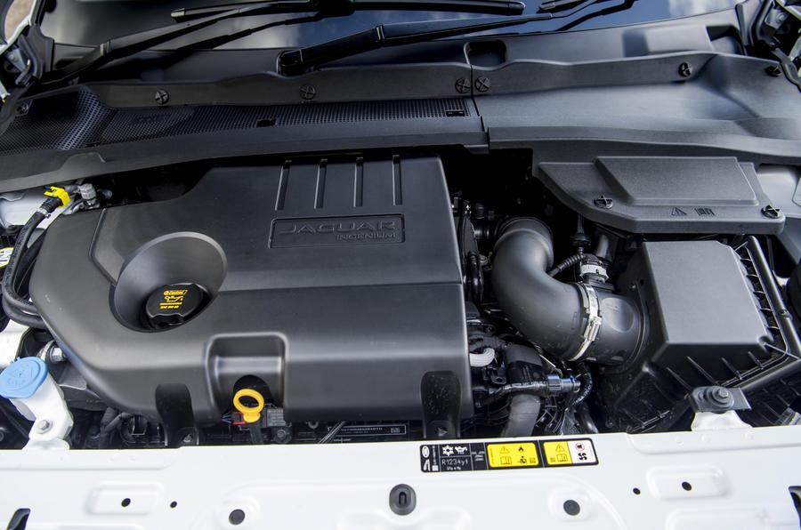 Jaguar E-Pace D150 2018 review engine