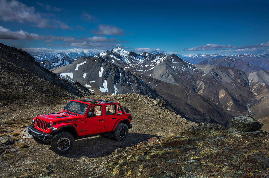 Jeep Wrangler (JL) Unlimited Rubicon 2018 review static hero