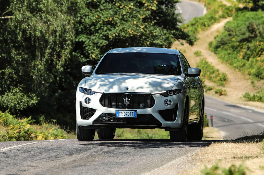 Maserati Levante Gransport 2018 UK first drive review trees