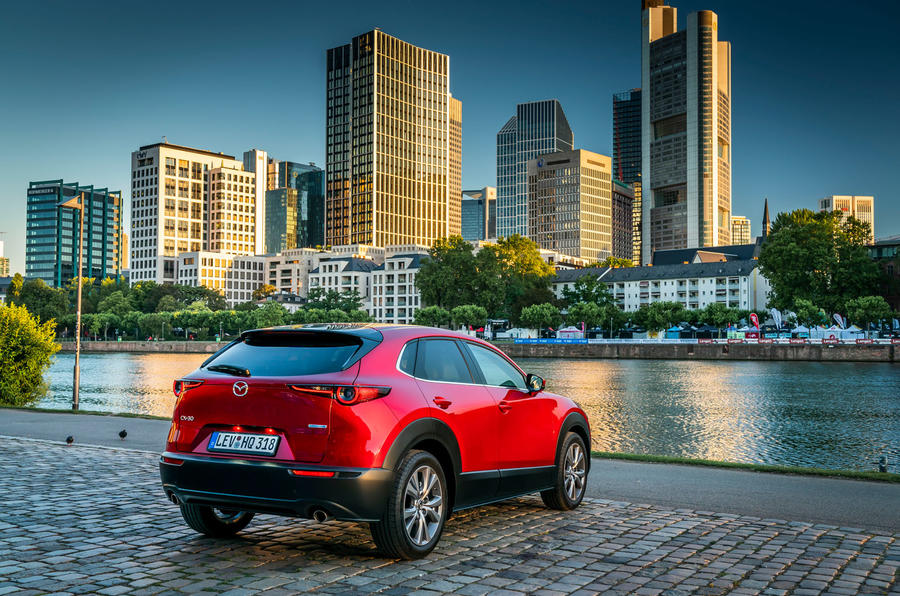 Mazda CX30 2019 first drive review - static rear