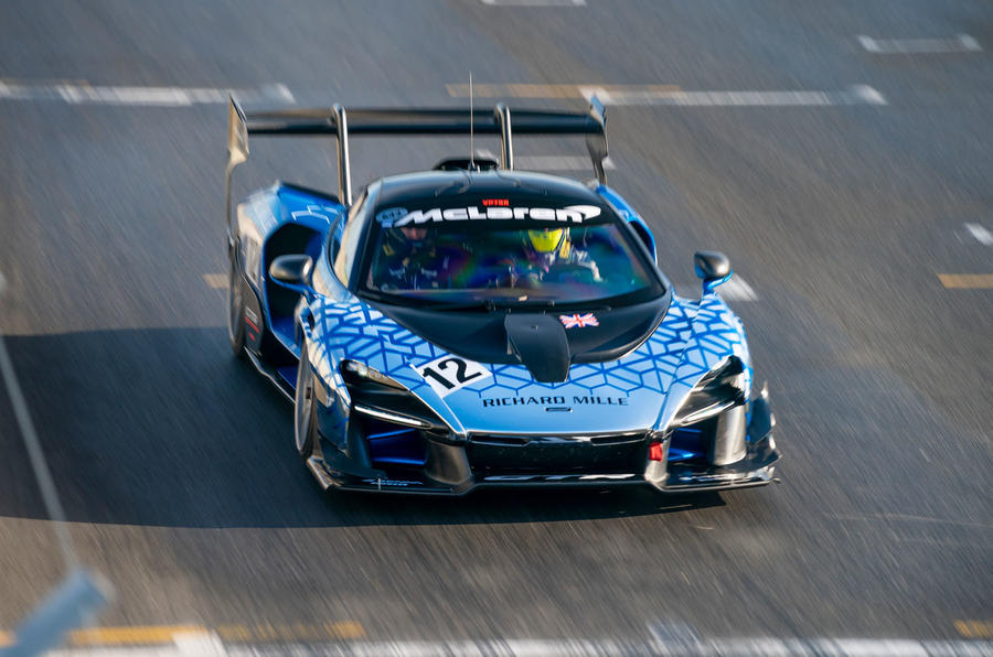 McLaren Senna GTR 2019 first drive review - track nose