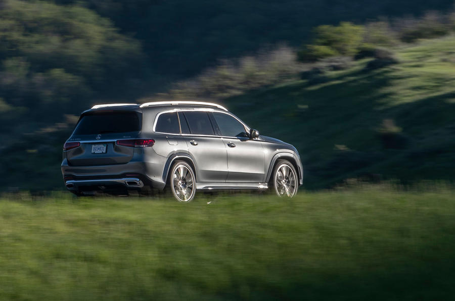 Mercedes-Benz GLS 400D 2019 first drive review - on the road rear