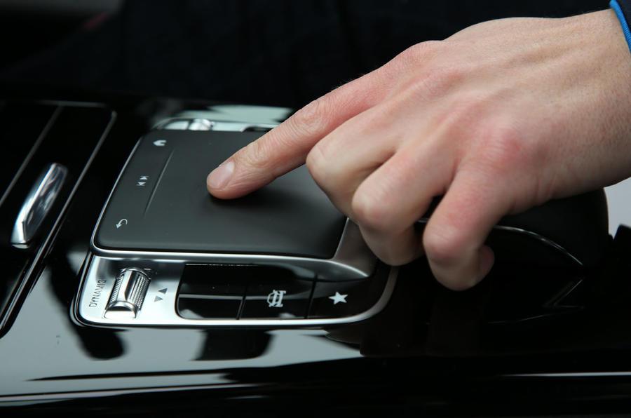 Mercedes-Benz A-Class 2018 long-term review - centre console