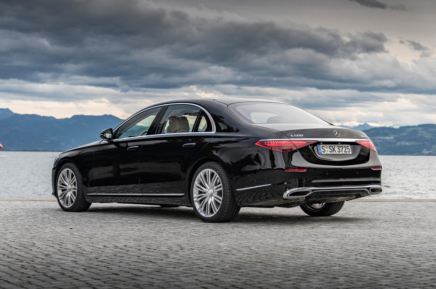 Mercedes-Benz S-Class S500 2020 first drive review - static rear