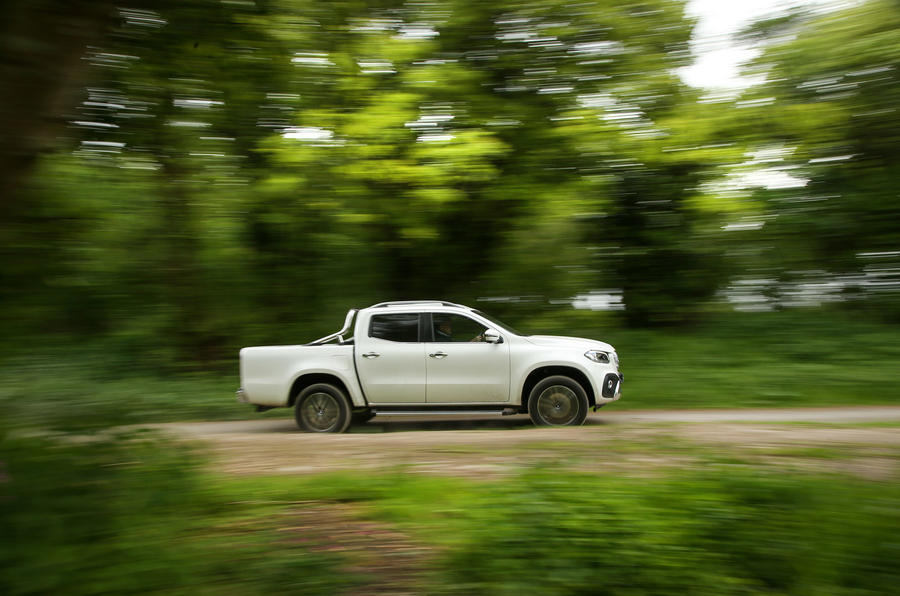 Mercedes-Benz X-Class longterm review on the road side