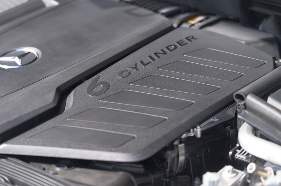 19 Mercedes Classe S S400d 2021 UE FD moteur