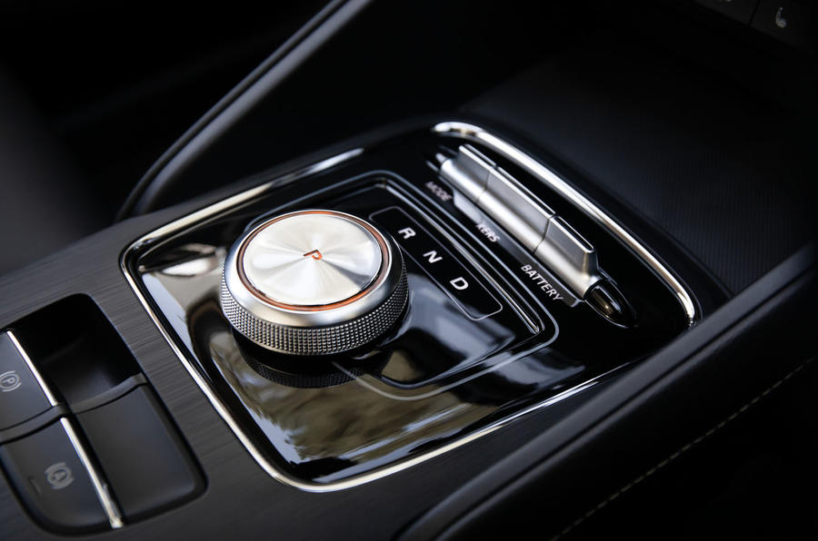 MG ZS EV 2019 UK first drive review - centre console