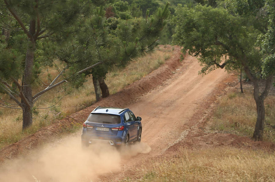 Mitsubishi ASX 2019 first drive review - dirt rear