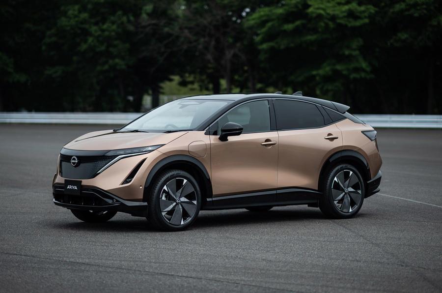 Radical new Nissan Ariya electric SUV revealed
