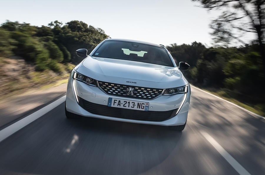 Peugeot 508 SW 2018 first drive review - hero action