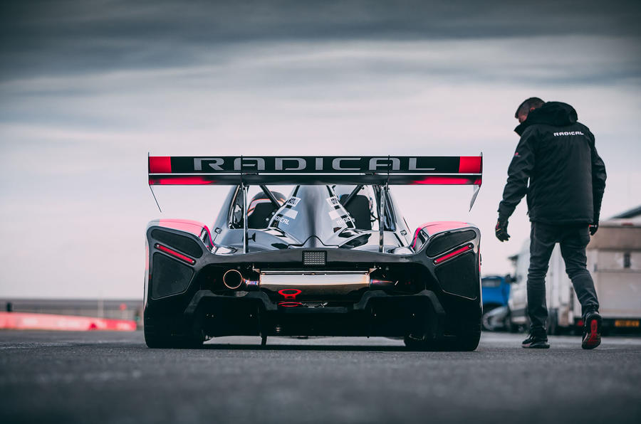 Radical SR10 2020 UK first drive review - static rear