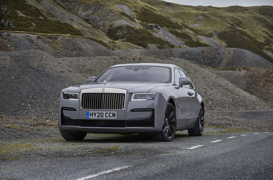 Rolls Royce Ghost 2020 UK first drive review - static