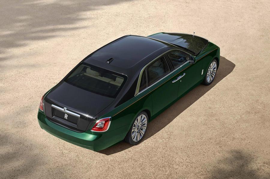 Rolls-Royce Ghost Extended - overhead
