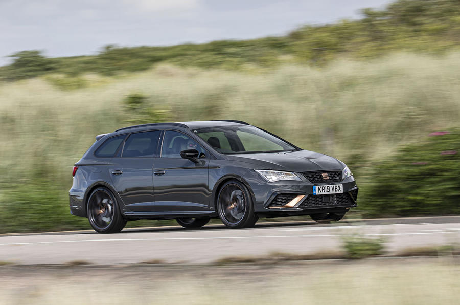 Seat Leon Cupra R ST Abt 2019 UK first drive review - on the road front