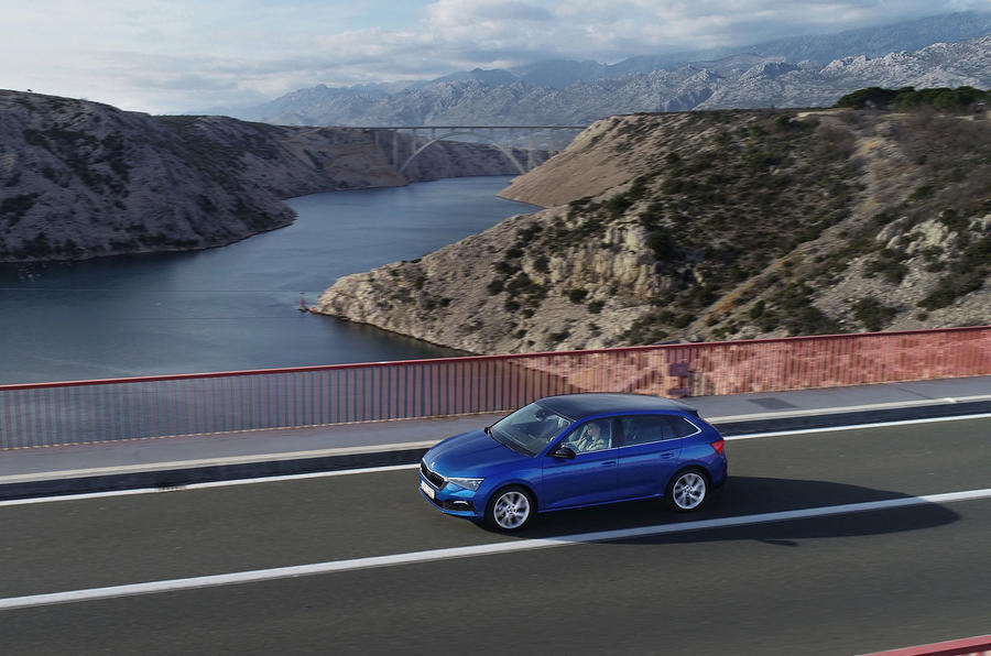 Skoda Scala 2019 first drive review - on the road side
