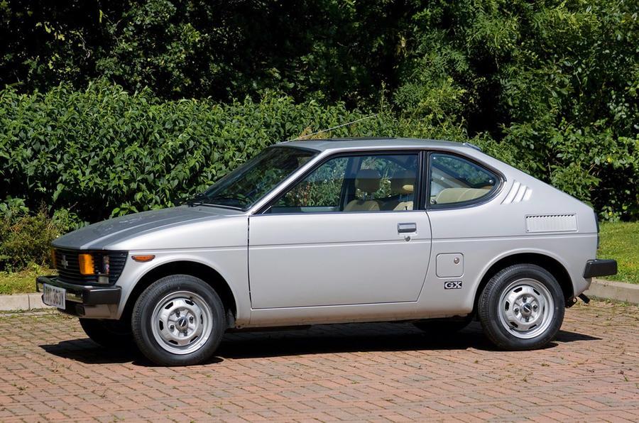 Suzuki SC100 - static side