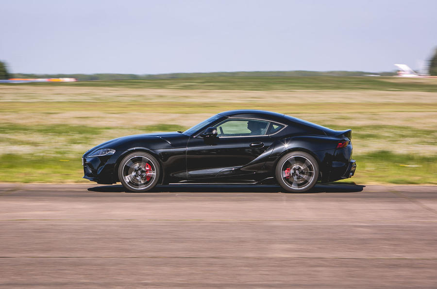 Toyota Supra 2019 UK first drive review - track side