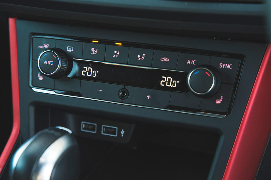 Volkswagen Polo GTI 2018 long-term review - climate controls
