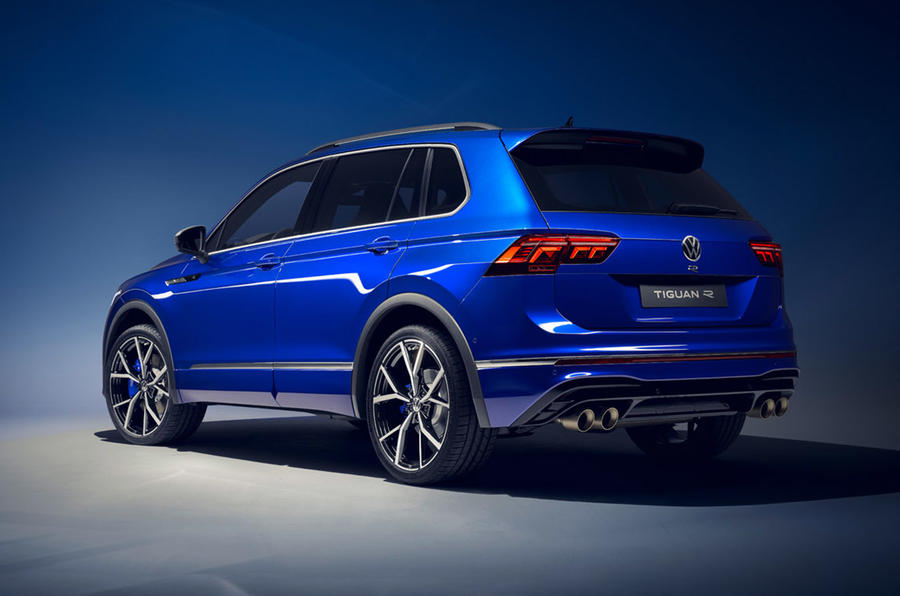 Volkswagen Tiguan SUV gets a facelift, hybrid and R performance versions added