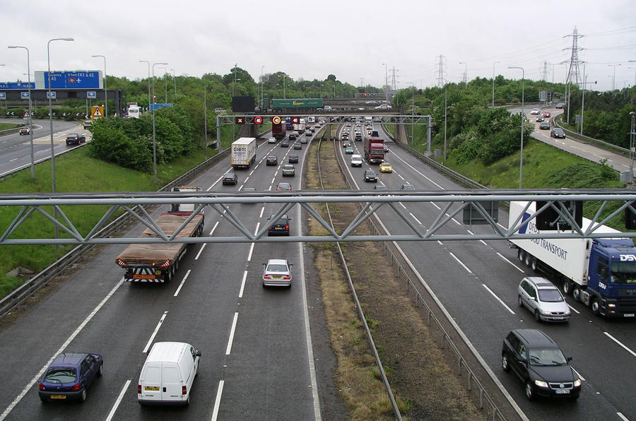 Motorway in UK