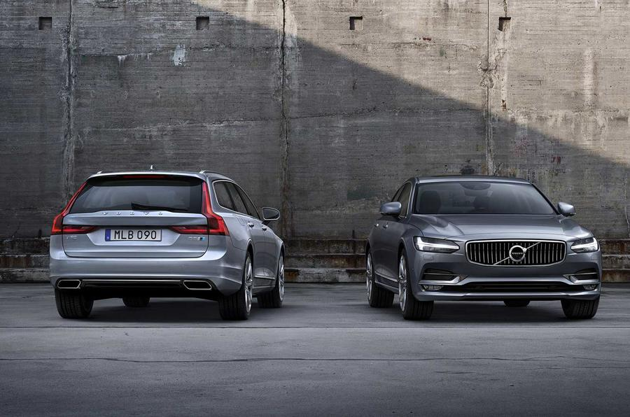 Volvo Polestar performance parts for S90 and V90