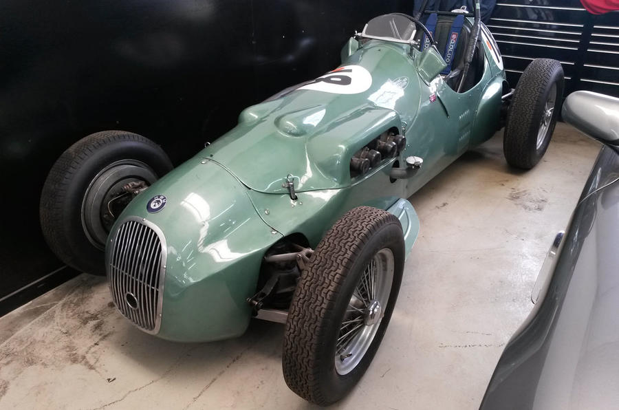 1950s Alfa Romeo Formula 2 car