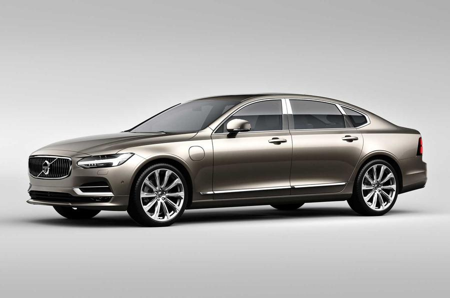 Volvo S90 Excellence revealed as a new three-seater saloon for China