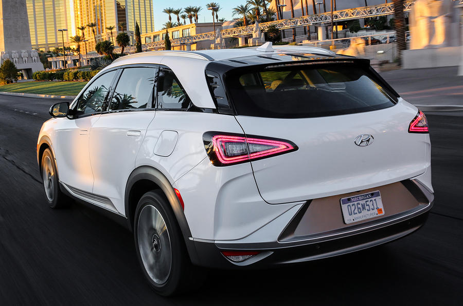 Hyundai Nexo hydrogen fuel cell-powered SUV revealed at CES