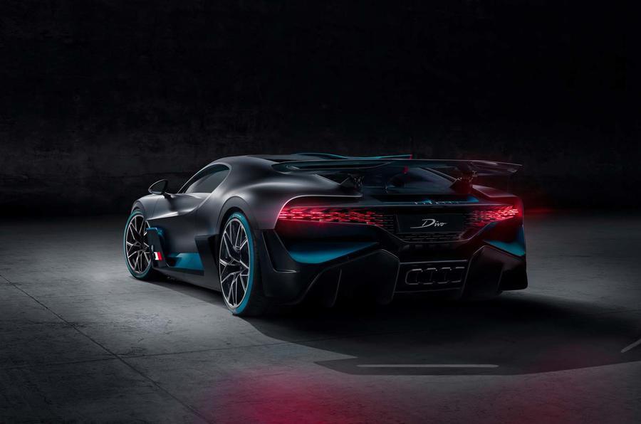 Bugatti Divo rear side