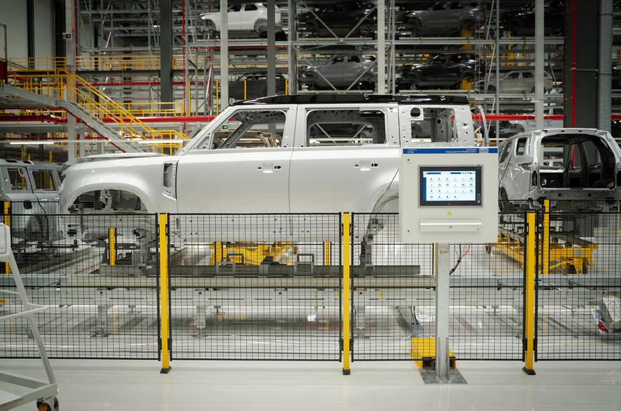 Land Rover Defender 2020 - bodyshell parts