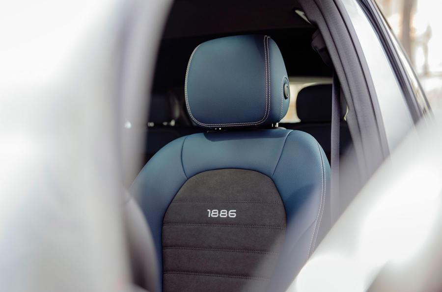 Mercedes-Benz EQC Edition 1886 - seat