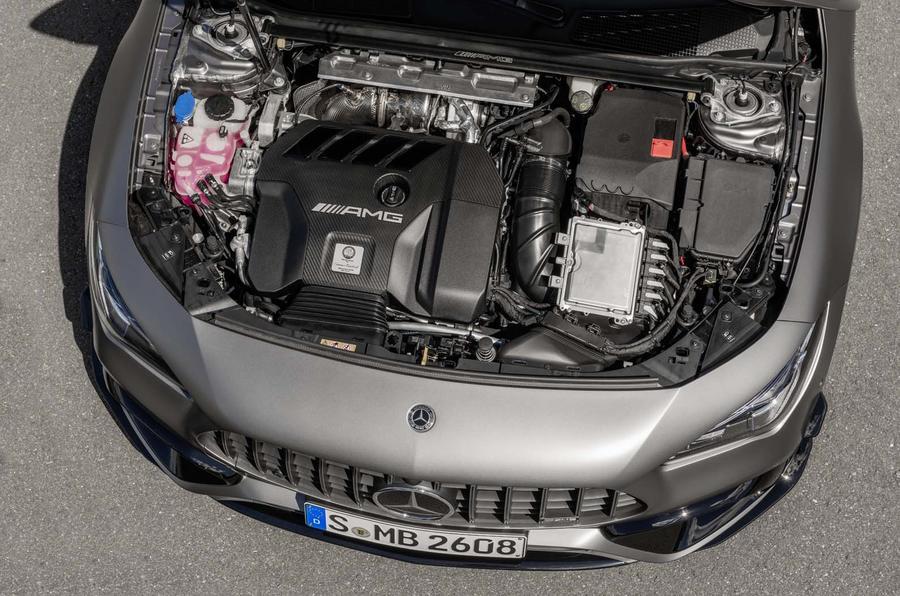 Mercedes-AMG CLA 45 S Shooting Brake - static