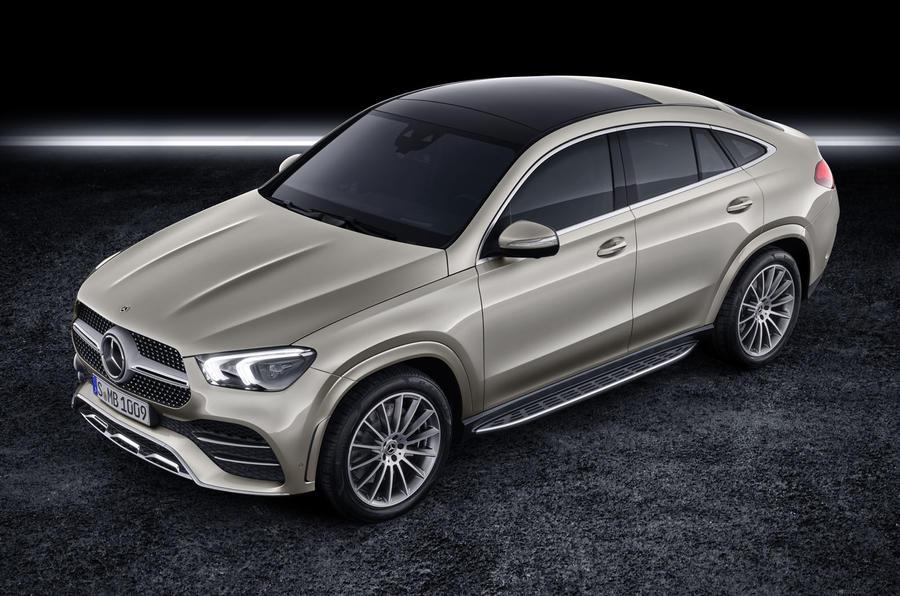 Mercedes-Benz GLE Coupé static - front