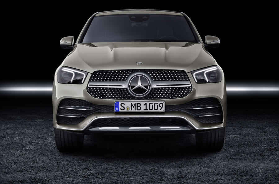 Mercedes-Benz GLE Coupé static - front