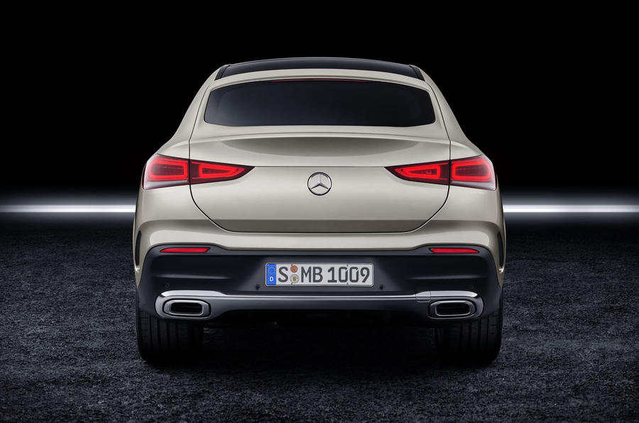 Mercedes-Benz GLE Coupé static - rear