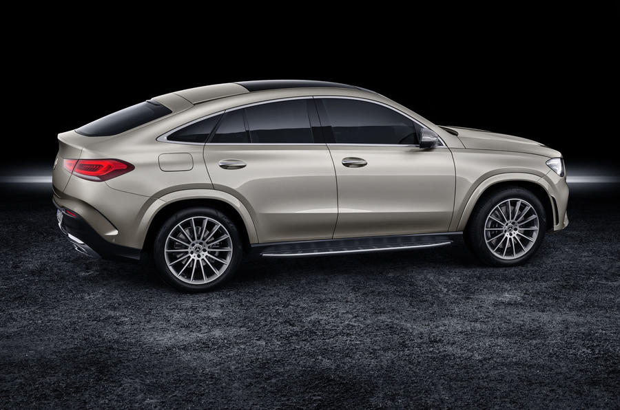 Mercedes-Benz GLE Coupé static - side