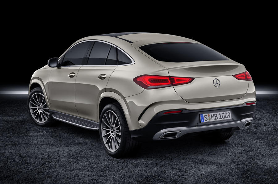 Mercedes-Benz GLE Coupé static - rear