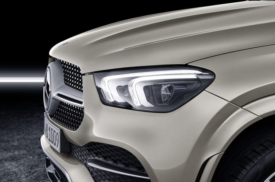Mercedes-Benz GLE Coupé static - headlight