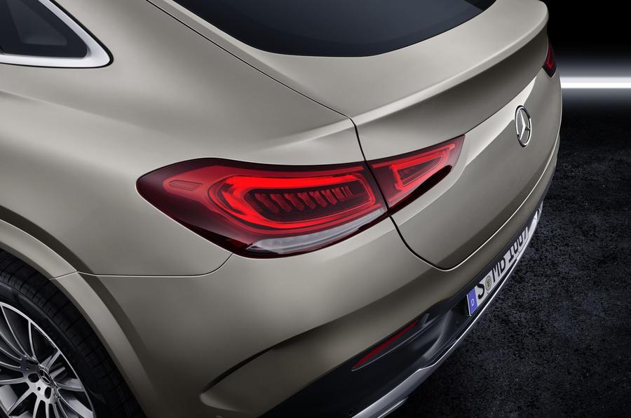 Mercedes-Benz GLE Coupé static - brakelight
